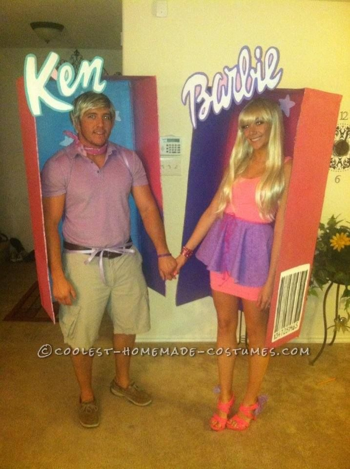Funny Halloween Costumes - Barbie and Ken