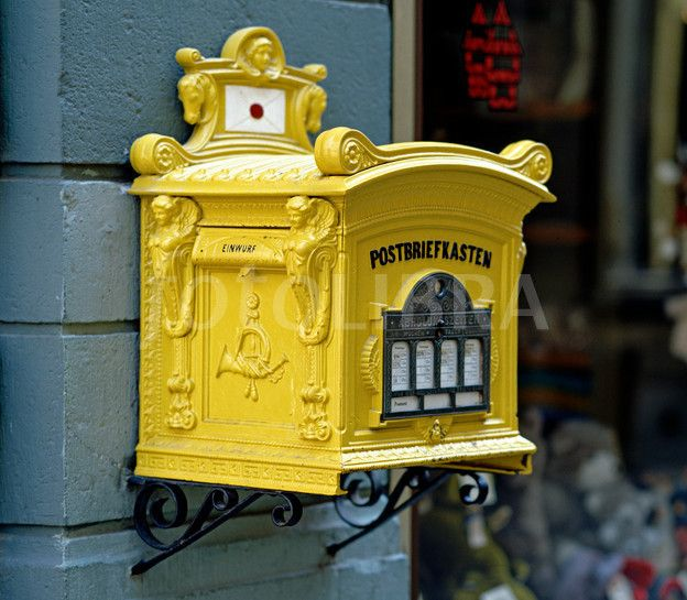 Antique Letter Box, Germany.