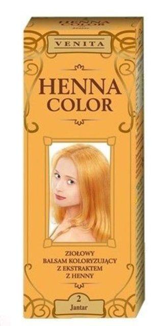 Henna color hajfesték 2 borostyán 75 ml 695 Ft db Hajmosás után kell  feltenni 69b3ffa311