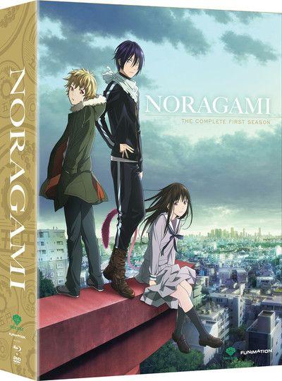 Crunchyroll - Noragami Season 1 Limited Edition Blu-ray/DVD