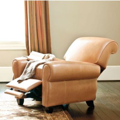 Paris Leather Recliner- comfy gorgeous color (called  Almond )- in my family room! Wish Ballard Designs made a couch and club chair in this leather! & 151 best Leather Recliners Melbourne Sydney images on Pinterest ... islam-shia.org