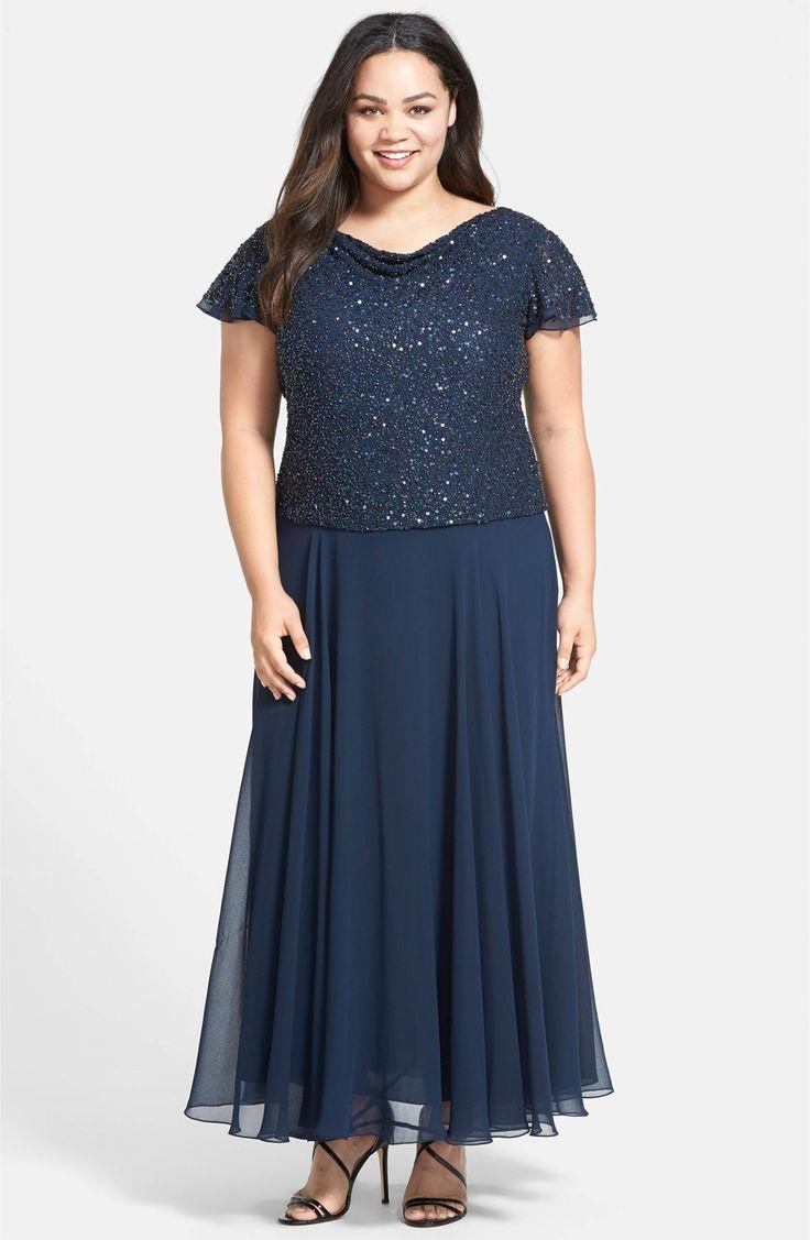 Jcpenney wedding dresses plus size   best Dresses images on Pinterest  Formal evening dresses Evening