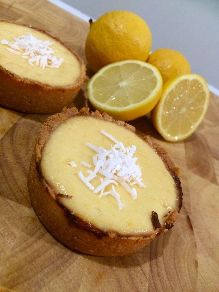 Kid Friendly Healthy Lemon Cheesecake Tarts