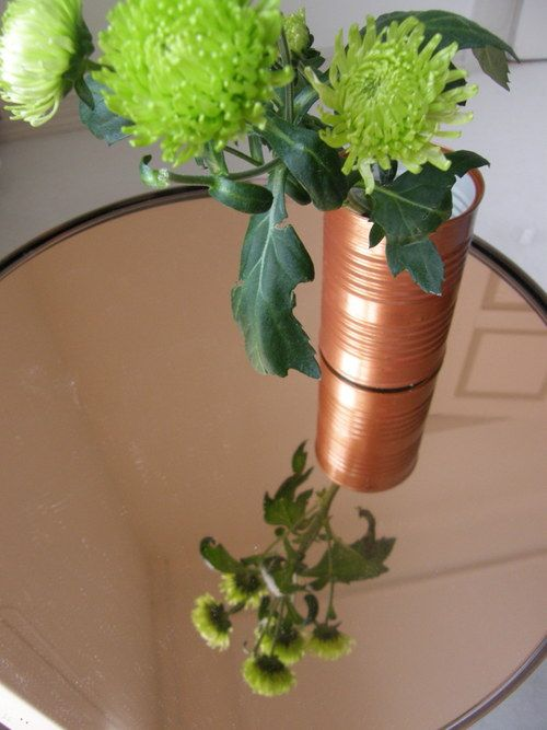Easy DIY. Paint your used cans!! :)