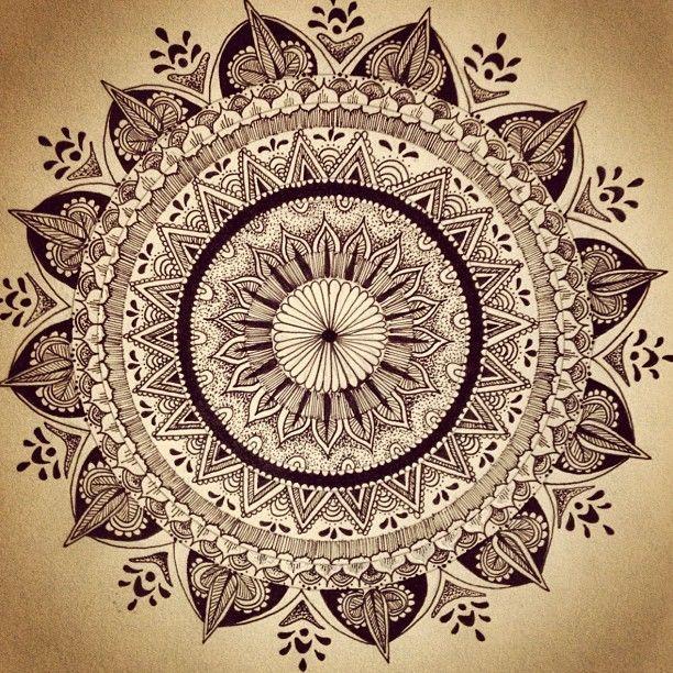 Zentangle Flower Tattoo 156 best + Zentangle a...