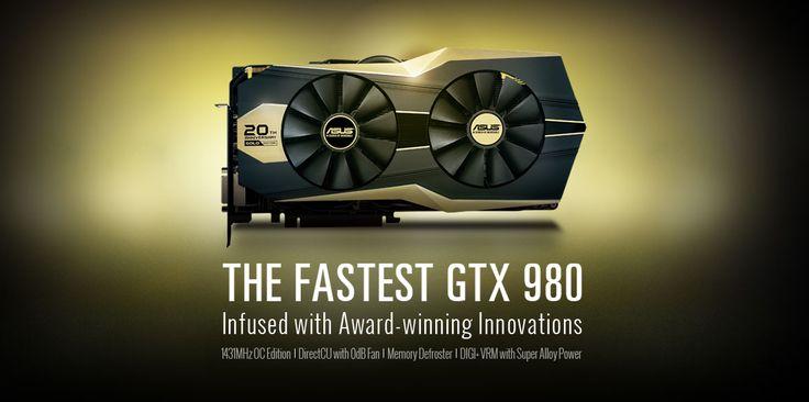 #Asus annonce la GTX 980 Édition Gold Limitée afin de célébrer 20 ans d'innovations constantes et de qualité en matière de carte graphique | Jean-Marie Gall.com