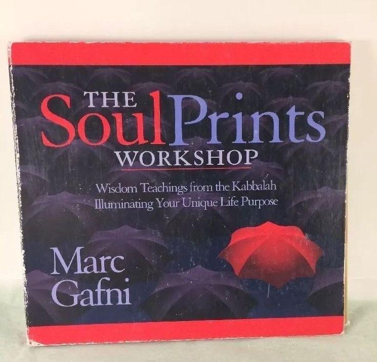 The Soul Prints Workshop by Marc Gafni 2004 CD Unabridged Audio Lecture Kabbalah