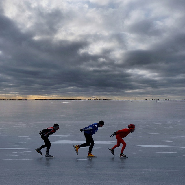 Ice-Skating in Helsinki