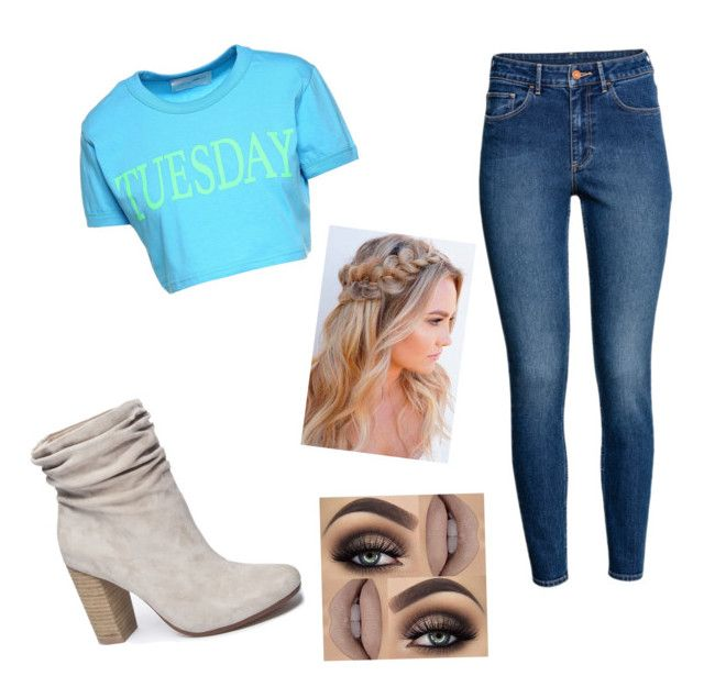 """""""Tuesday is the best day"""" by ophelierose on Polyvore featuring mode, Chinese Laundry, H&M et Alberta Ferretti"""