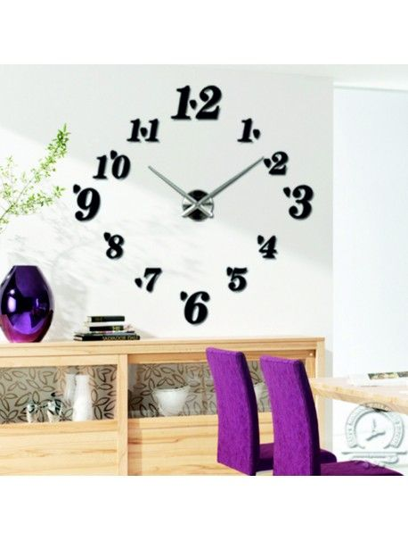 Widest range of hours in different colors for perfect wall. Elegant adhesive hours. Wall clock on the wall are equipped with quality machines for rechargeable battery AA 1.5 V, which is characterized by low noise. Container movements and hands of the clock are made of solid steel, which are simply mounted to the wall. Installation is very simple and will become a hobby Zienka each household. The rest of the components in the form of numbers sufficient to stick to the wall, because they are…