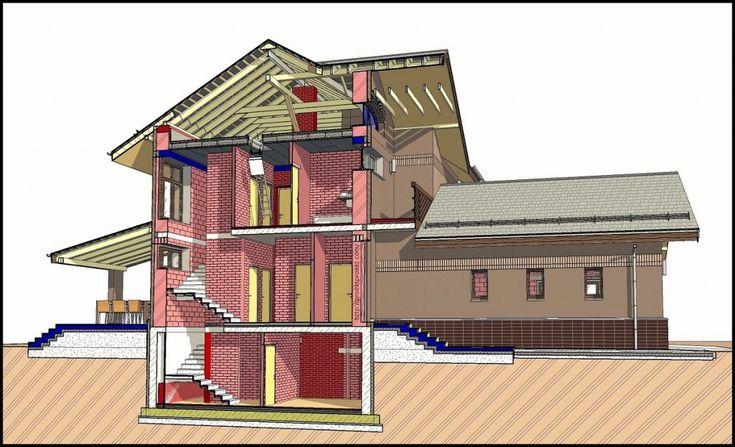 Пример качественной 3D модели частного дома