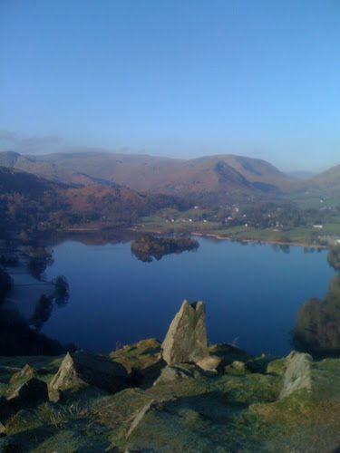 View from Loughrigg over Grasmere