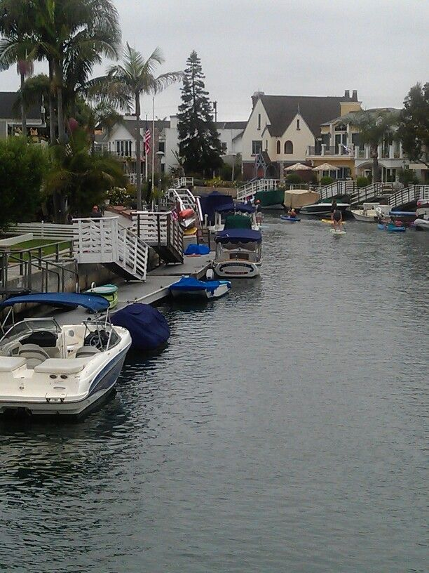 """(Had friends in Naples. Mike Salta of Salta Pointiac, Rick Ellis (had a nice Ford Cortina GT. We had a """"race course set up,  following the narrow alleys, sharp turns  and all that... we would time ourselves, and  try not to hit any parked cars,  LOL).   #Naples Island, Long Beach, #California"""