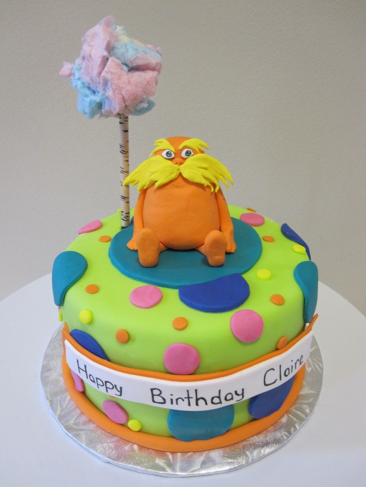 Cake Designs Debbie Drive Montgomery Al : lorax cake Cakes Pinterest Lorax and Cakes
