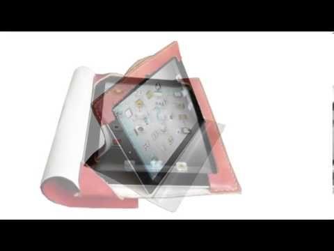 Κόκκινη Θήκη-Τσάντα για iPad 4 Retina
