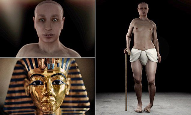 A virtual autopsy comprised of thousands of scans has shown that Tutankhamun's early death may have been due to physical and genetic problems caused by his parents being brother and sister.