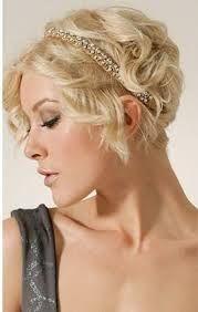 Risultati immagini per capelli corti da sposa