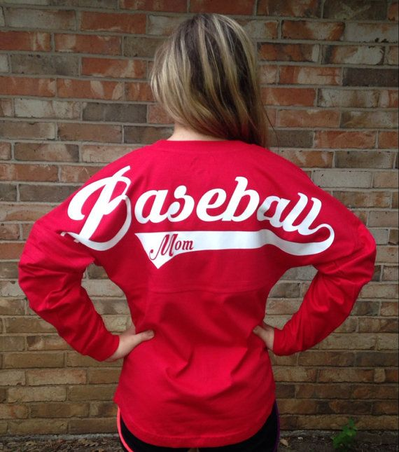 Custom Baseball Mom Jersey  You choose the color by BigDOutfitters