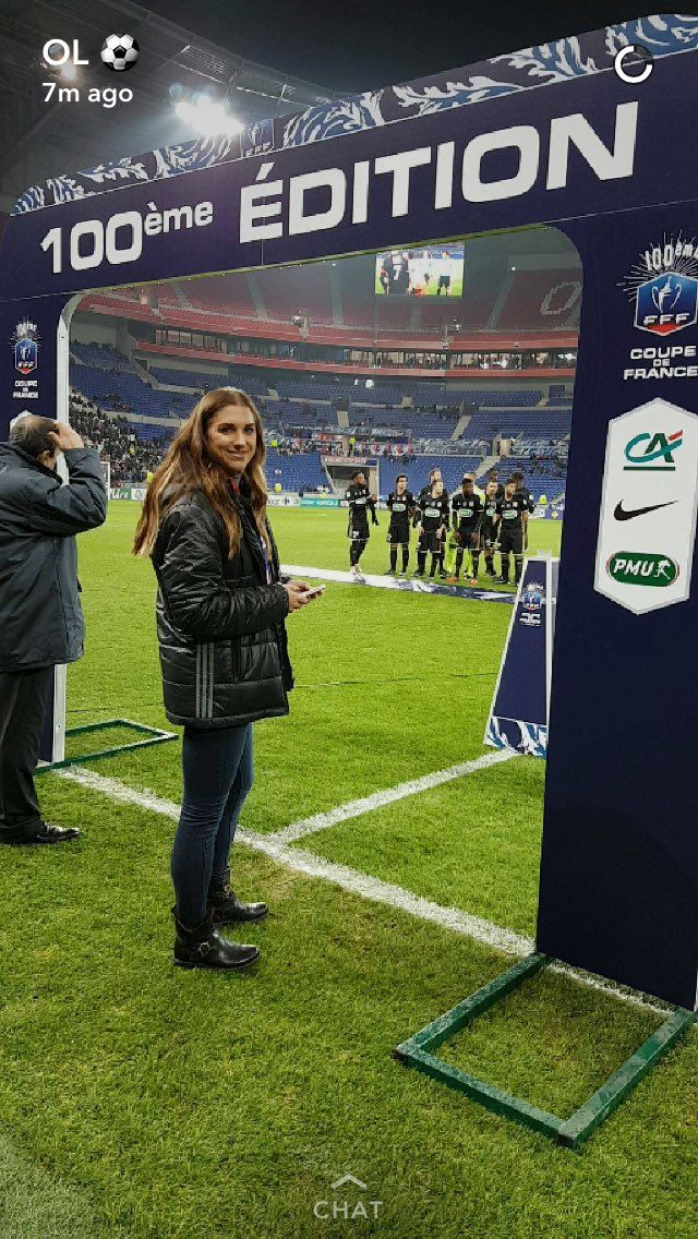 Alex Morgan    Olympique Lyonnais (08.01.2017)