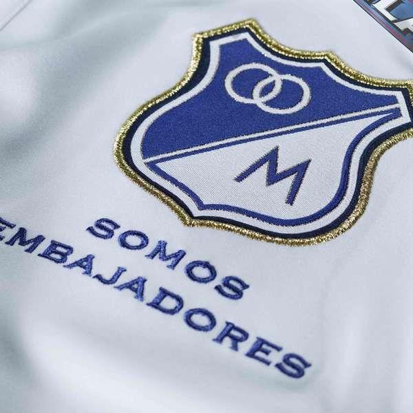La nueva camiseta de Millonarios en condición de visitante