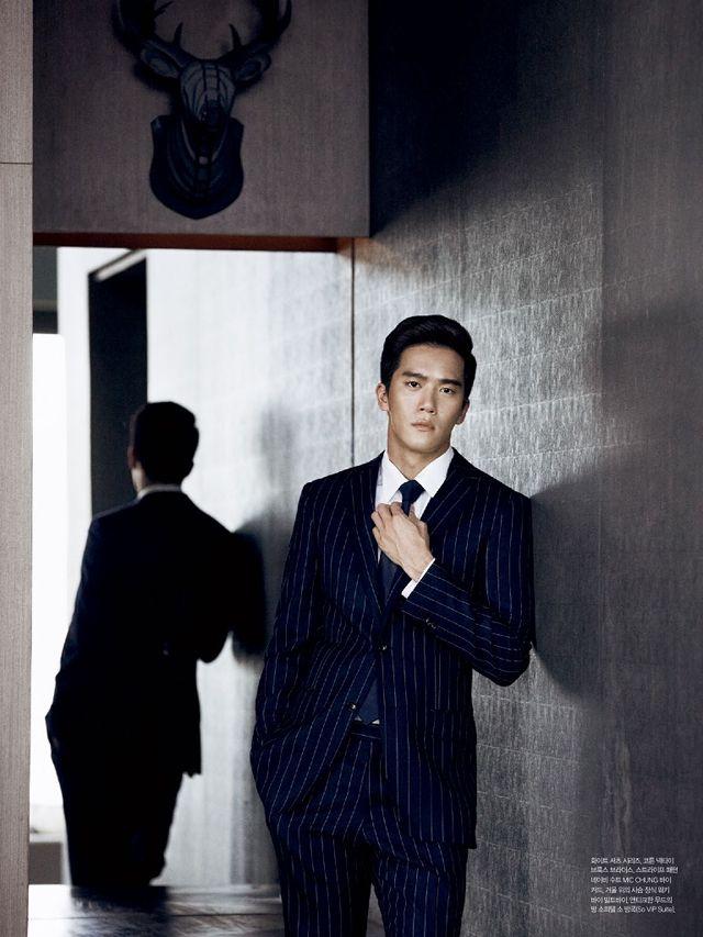 Ha Suk Jin - L'Officiel Hommes Magazine October Issue '13
