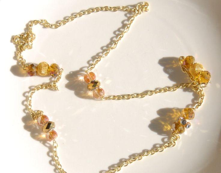 Women's Gold Necklace Designer Necklaces Gold Jewelry Women's Jewelry Statement Jewelry Gifts for Her Women Accessories Designer Accessories by OliverandDjango on Etsy