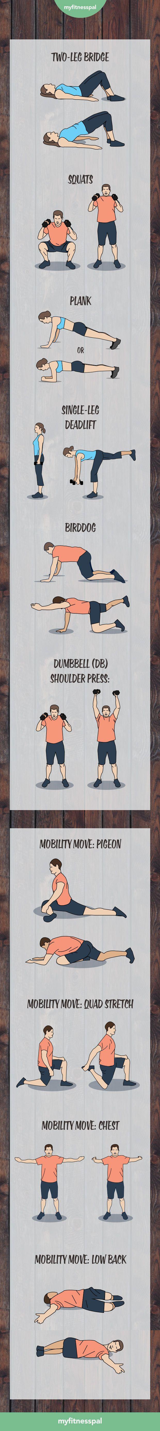 strength training challenge exercises