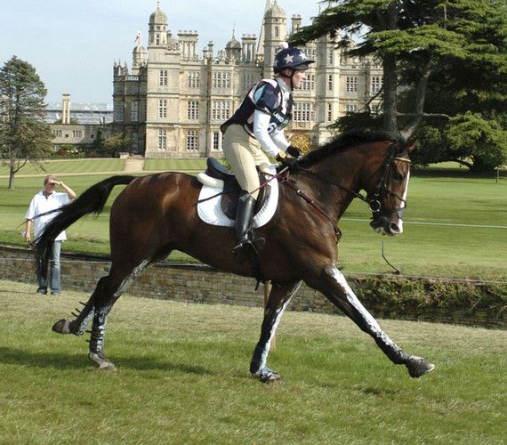 The Burghley Horse Trials take place every year in early September