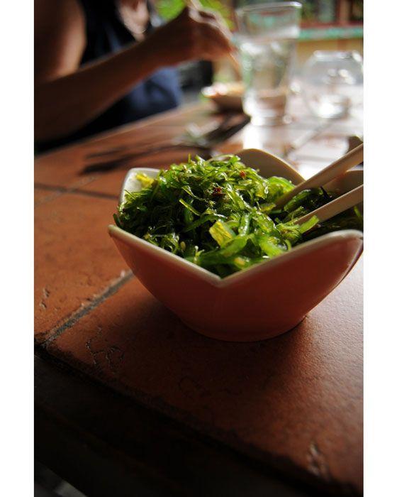 Seaweed Salad - macrobiotic and vegan
