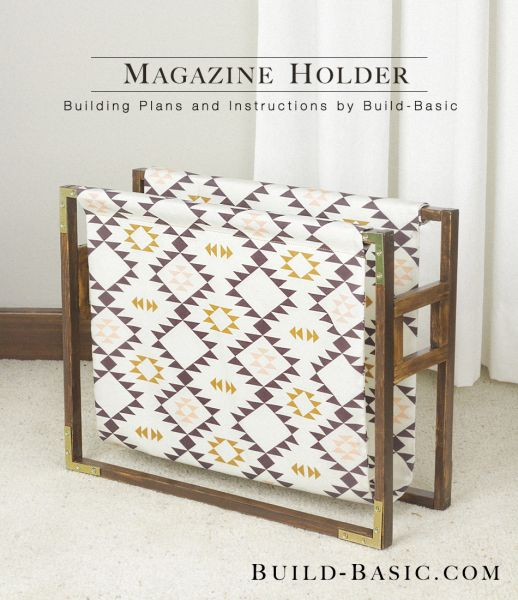 Build a Magazine Holder
