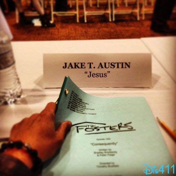 "Jake T. Austin First Day Of ABC Family's ""The Fosters"""