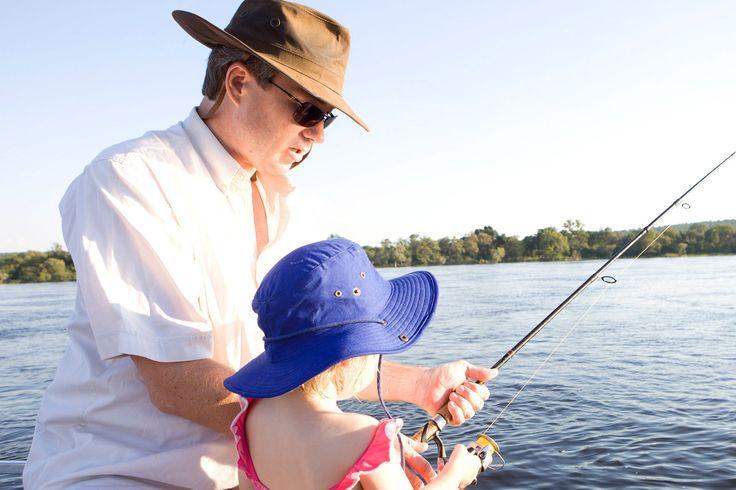 Fishing on the Zambezi at Royal Chundu