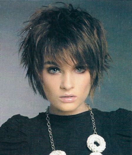 Image detail for -Cute Sassy Short Length Layered Haircut Picture