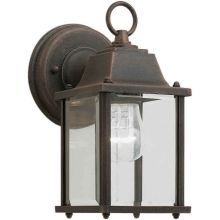 Craftsman / Mission Outdoor Wall Sconce from the Exterior Lighting Collection