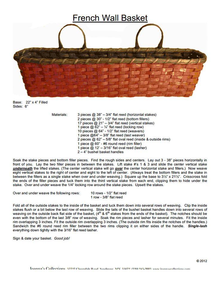 295 best Basket Weaving images on Pinterest | Basket weaving, Basket ...