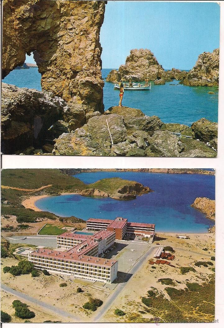 Menorca Na Macaret Sa punta d´espont y Playa Arenal d´en Castell. Sin circular