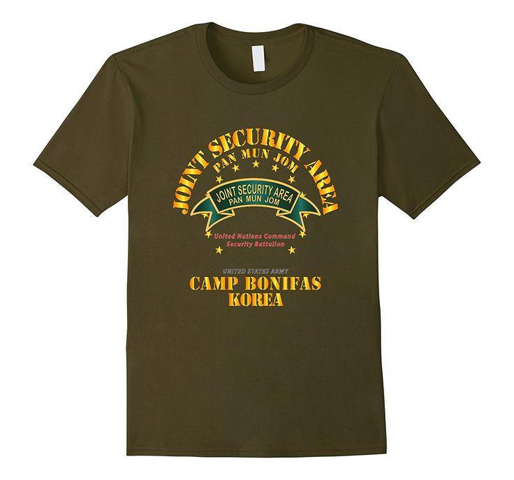 Army - Joint Security Area - Camp Bonifas Korea Tshirt