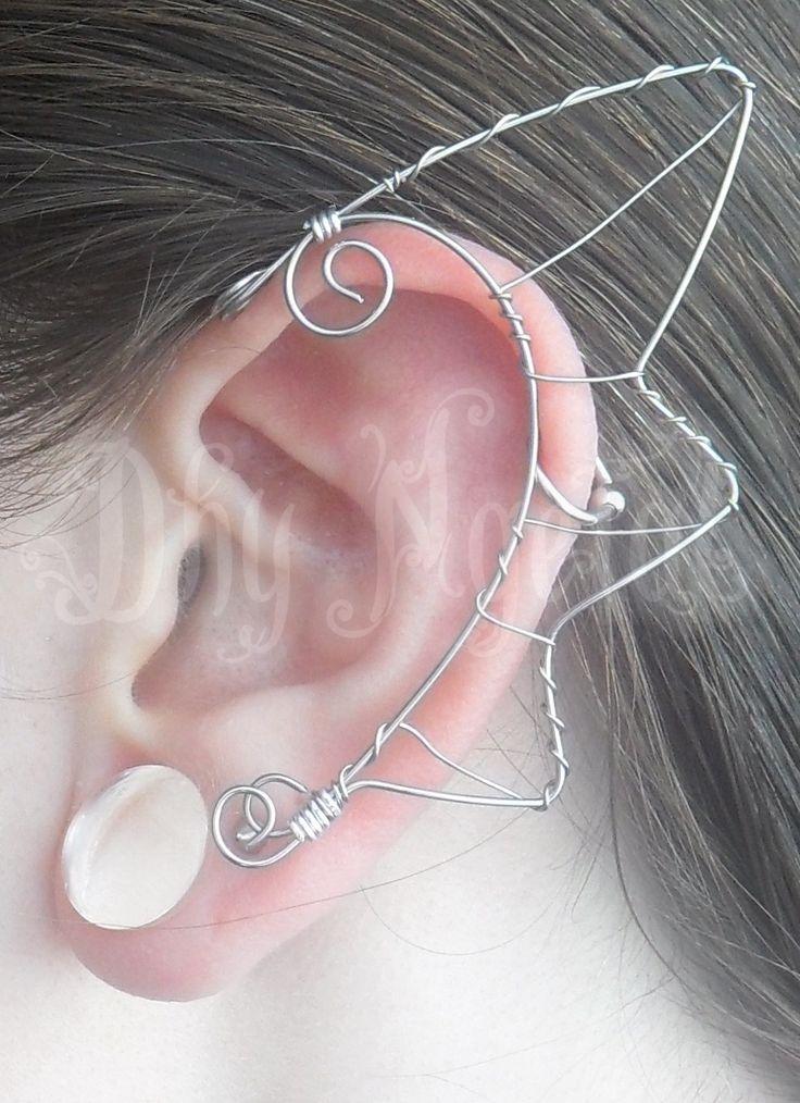 elf, fairy, ear, wire, craft, dragon https://www.facebook.com/Dhyngetal