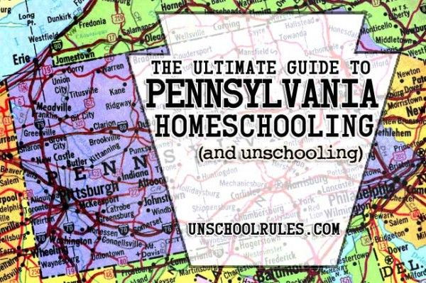 The ultimate guide to homeschooling and unschooling in Pennsylvania - with free editable objectives, unschooling portfolio samples and more | Unschool RULES