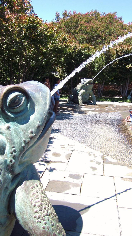 Water fountains dallas - Dallas Arboretum S Toad Fountains Dallas Texas Swa Group Www Fountainsdallas Com