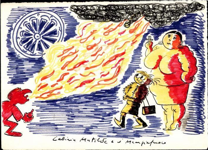 Cabiria, Matilde e mangiafuoco. Federico Fellini, 'Lo sceicco bianco' (1952) http://www.federicofellini.it
