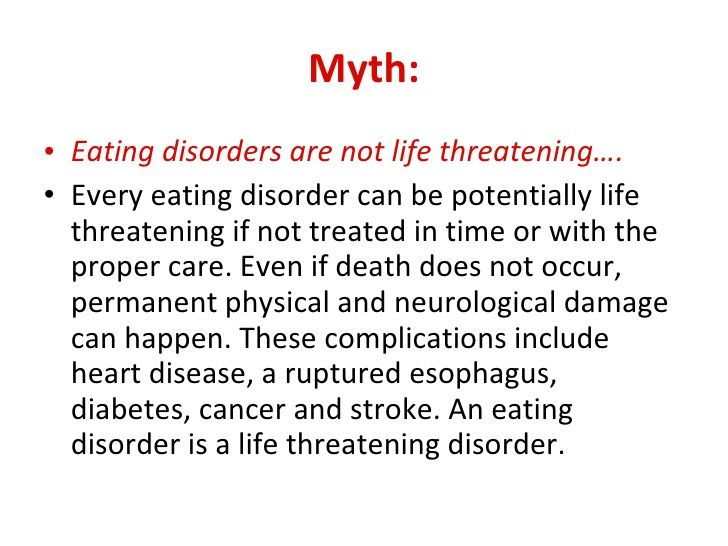 Eating Disorders: 4 Potential Causes