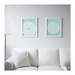 IKEA - TVILLING, Bild 2 St., Durch Kunst, die den eigenen Stil ausdrückt, lassen sich Wohnräume persönlich gestalten.