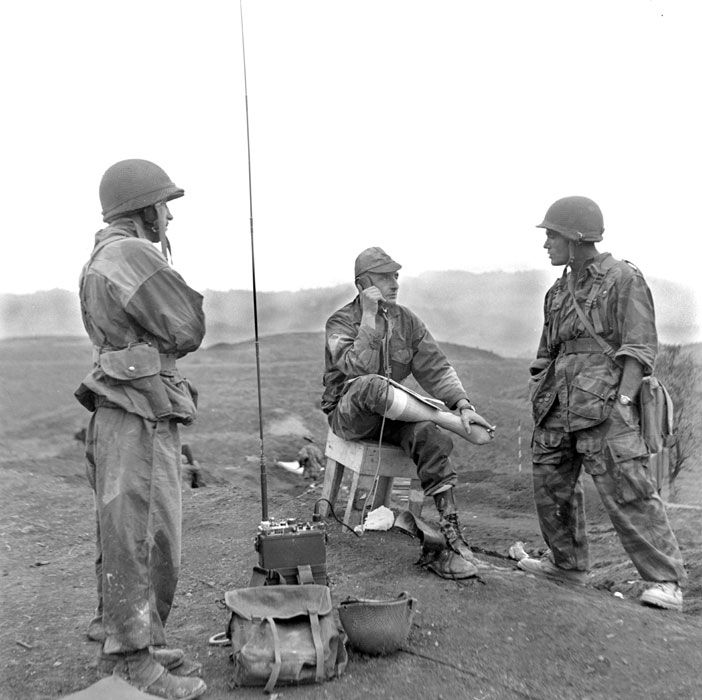 Marcel bigeard - Bataille de Diên Biên Phu, 13 – 17 mars 1954. – ECPAD