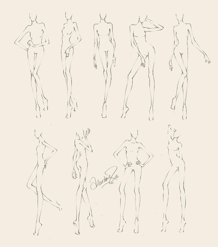 Fashion Croquis Poses | croquis by alextangweihao on deviantART