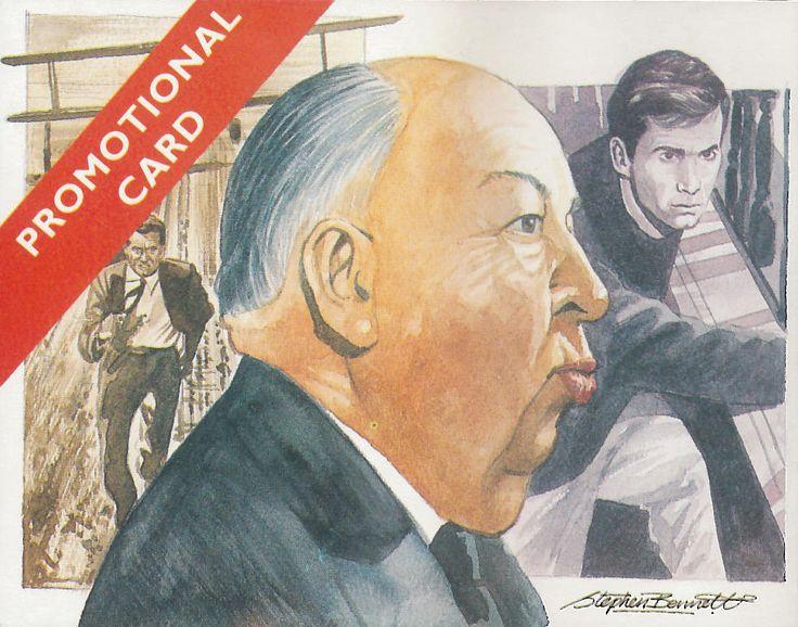 Alfred Hitchcock, 1992; trade Card Cecil Court, su disegno di Stephen Bennett