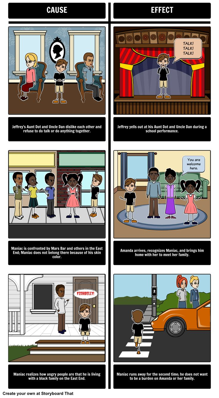 Maniac Magee - Cause and Effect                                                                                                                                                                                 More