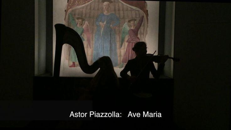 Piazzolla - Ave Maria & La Madonna del Parto di Piero della Francesca
