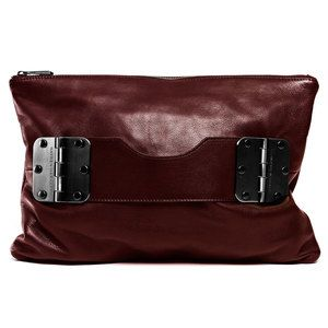 Bowdoin Clutch Ox Blood, $248, now featured on Fab.