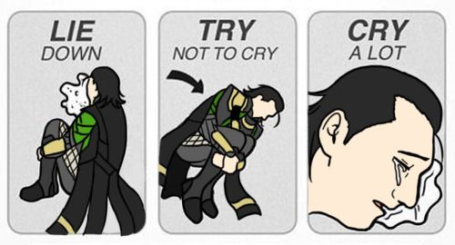 how to not cry when you get in trouble